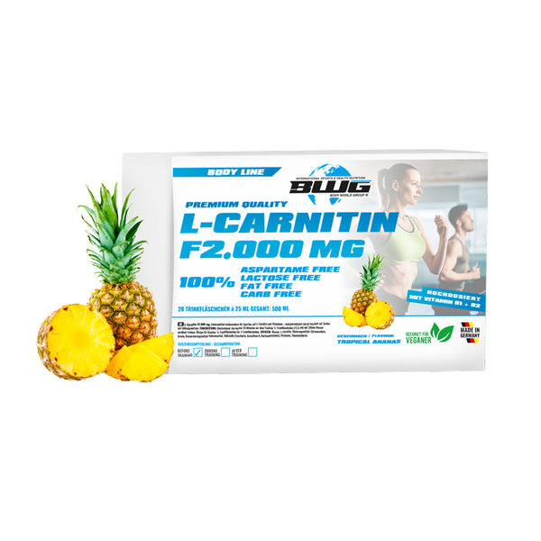BWG L-Carnitine F 2000mg - 20 ампули